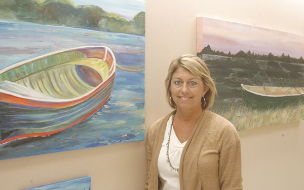 Jeremy D. Smith -- Jennifer Tate is the featured artist in The Exhibit at Bryan W. Whitfield Memorial Hospital. BWWMH will host a reception in her honor Sunday at 1:30 p.m.