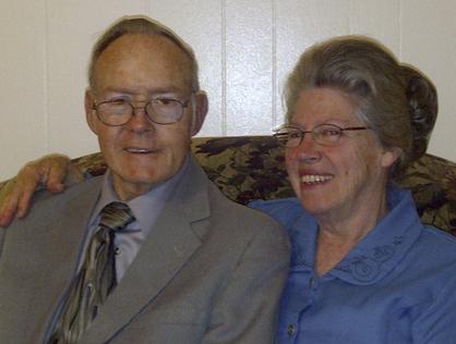 Clyde and Nellie Ballard will celebrate their wedding anniversary.