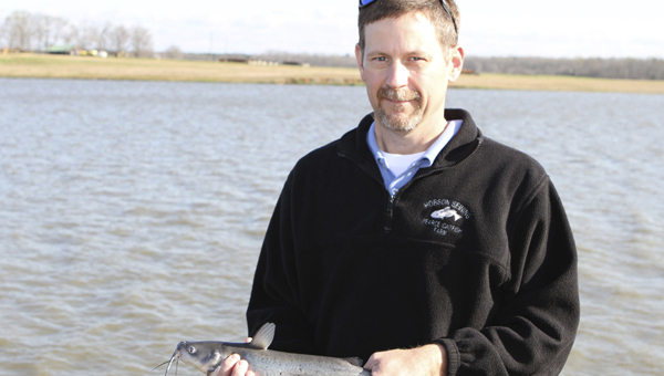 Derry Bone, Marion Junction native, was recently named the catfish farmer of the year by the Alabama Catfish Producers.