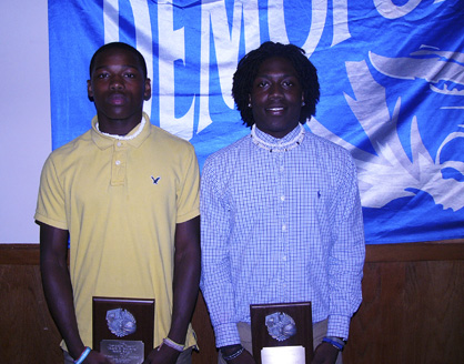 DJ Howell earned the hustle award for the Demopolis Tigers, and Tommy Wilson earned the player of the year award.