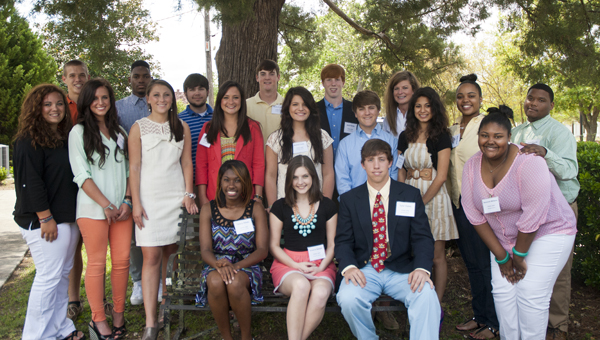 The 2013 YOUth Lead class held its graduation ceremony Tuesday during a luncheon at Rooster Hall.
