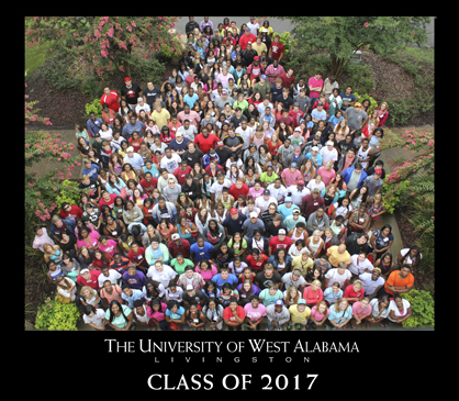 University of West Alabama Class of 2017.