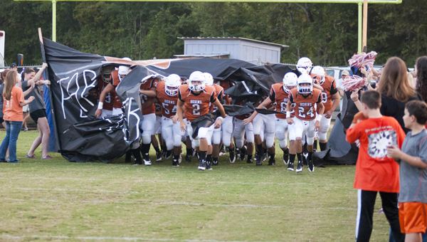 The Marengo Academy Longhorns opened their season with a 34-6 win over South Choctaw Academy.