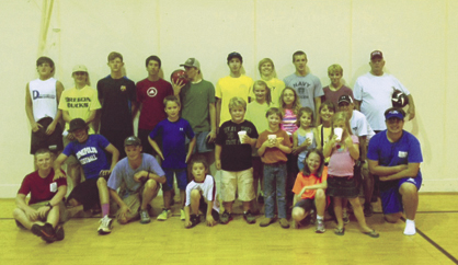 Fairhaven Baptist Church's Children's Mission groups, along with the Demopolis High School soccer team, held a kick-a-thon on Wednesday, Aug. 14 to benefit the Cody Webb Athletic Scholarship Fund.