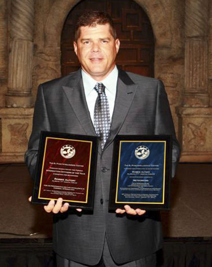 Agent Robbie Autery with the 17th Judicial Circuit Drug Task Force Criminal Investigations Patrol Unit received national honors at a conference in August.