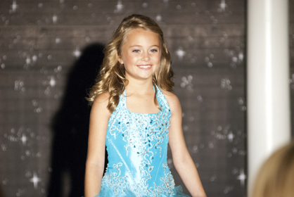 Buckley Elizabeth Nettles is the 2013 Young Miss Christmas on the River.