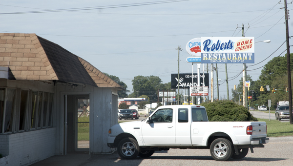 Roberts' Family Restaurant, open in Demopolis for nearly 41 years, closed as of the end of September.