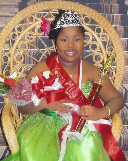 The winner of the Little Miss Diva Pageant was Shanya T. Matthews, the daughter of Felicia Matthews of  Demopolis.