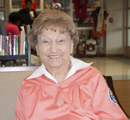 Bryan W. Whitfield Memorial Hospital Auxiliary volunteer Edith Whitfield will be honored next week as part of a program that will recognize the auxiliary's 40 years of service and the hospital's 60th anniversary.