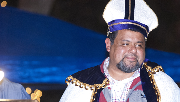 J.R. Rivas was crowned the 2013 St. Nicholas on Thursday during the lighting of the Public Square.