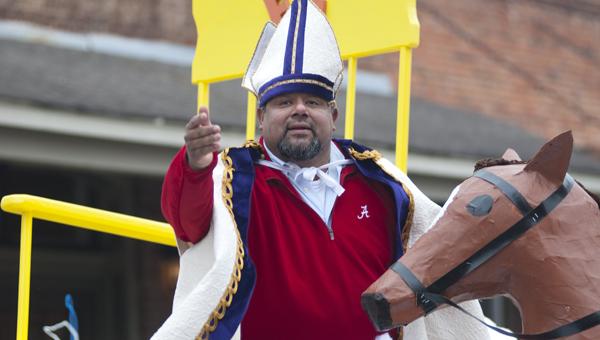 JR Rivas was the 2013 COTR St. Nicholas.