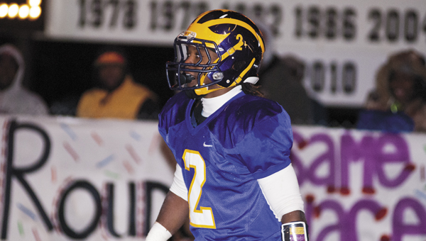 Jakoby Aldridge, a Sweet Water senior, was named to the Demopolis Times All-County Team.