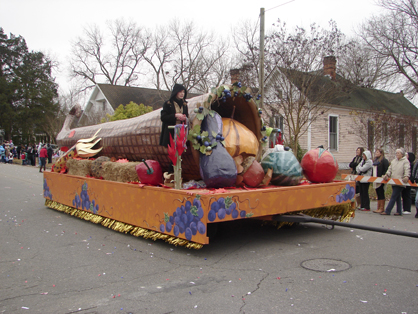 The fall float