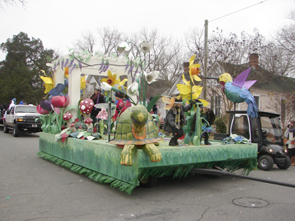 The spring float
