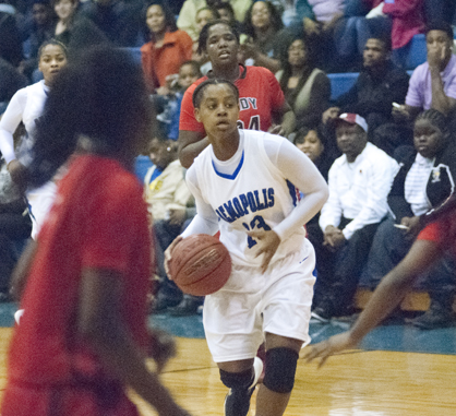 Sha'Deitra White had 12 points for Demopolis in the loss to Central Tuscaloosa.
