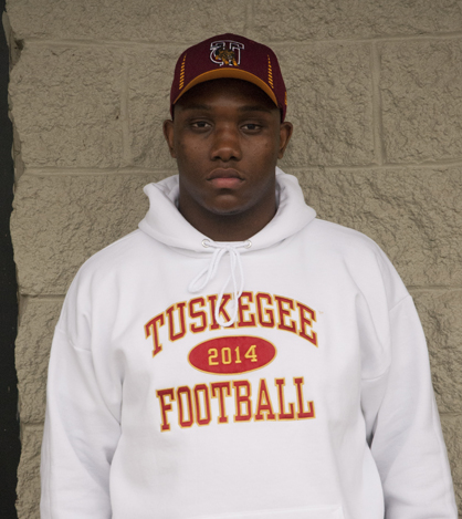 Demarcus Gamble signed to play at Tuskegee University.