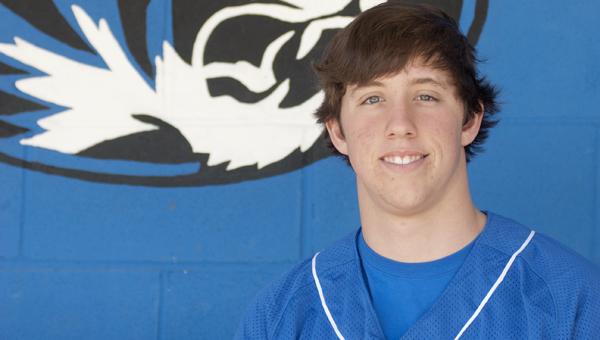 Tyler Oates, a Demopolis High School senior, overcame a broken back in November to make it back for baseball season in February.