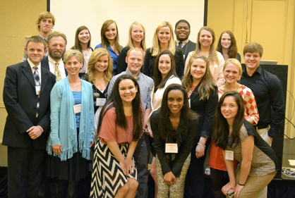 UWA students and faculty from the journalism and communications program attended the annual Southeast Journalism Conference in Lafayette Feb. 20-22, bringing back to Livingston a host of awards for team and individual competitions.