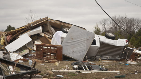 An EF-1 tornado on Christmas Day 2012 destroyed multiple mobile homes in Demopolis.