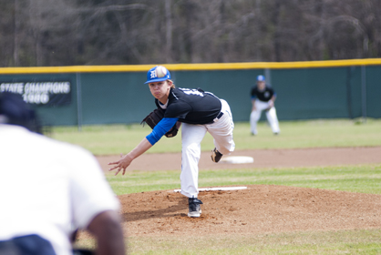 Adam Sellers pitched five innings for Demopolis, striking out nine batters.