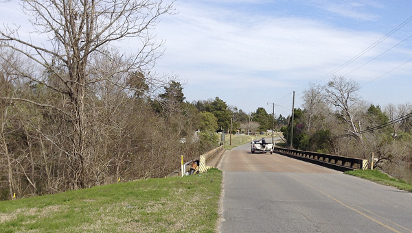 The long bridge on Jackson Street in Demopolis will soon be replaced with ATRIP funds.