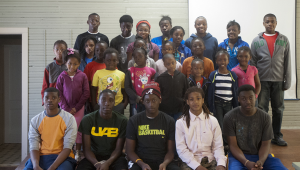 The Jefferson Community Center welcomed as many as 49 children to their Spring Fling Event on Monday through Wednesday. Wednesday's group of 26 children are shown above.