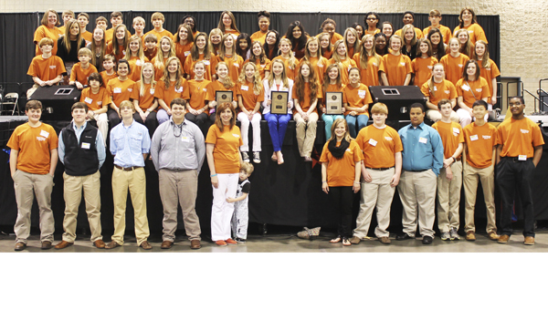 The Demopolis Middle School Junior Beta Club brought home honors from the state convention in Birmingham on March 9-11.
