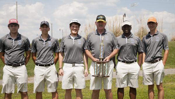 The Demopolis High School boys golf team won the Fayette County Invitational last week.