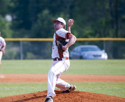Hayden Huckabee started game two for the Longhorns.