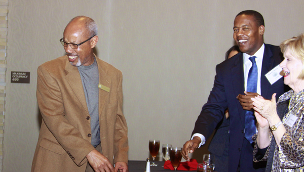 """Rep. A.J. McCampbell was awarded the """"Buskey Award"""" by the Alabama House Democratic Caucus last weekend."""