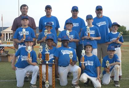 The Collins Communications Cubs, Demopolis Youth Baseball League 10U Champions.