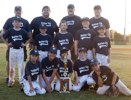 The Batter Up Brewers, Demopolis Youth Baseball League 10U runners-up.