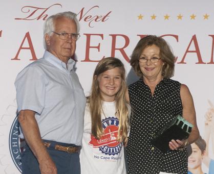 Gerald Parson, Maley Lee and Ann Parson