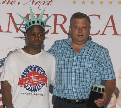 Jeremiah Edwards and Carl Johnson
