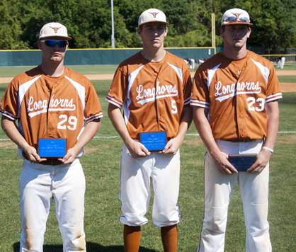 Brant Lewis, Kyle Friday and Carson Huckabee were named to the AISA Class A All-Tournament Team.