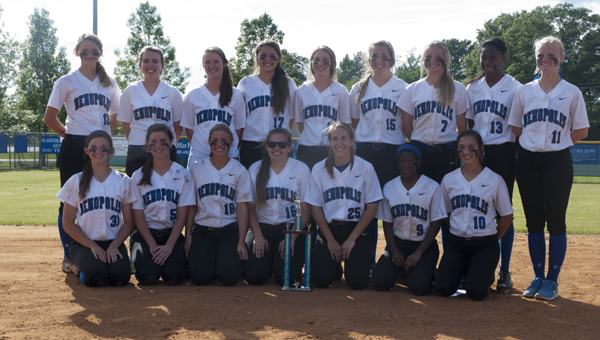 The Demopolis High School Lady Tigers won the Class 5A, Area 6 softball tournament Friday afternoon.