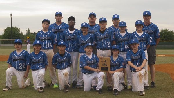 The Demopolis 11U All-Stars were recognized Thursday for winning the District 10 tournament last weekend.