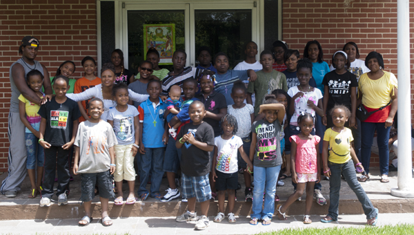 Children learned about keeping the environment clean during Vacation Bible School at Saints Tabernacle Church of God in Christ this week.