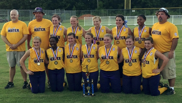 The Sweet Water Belles won their District 8 tournament Sunday with two wins over Thomasville. They advance to the state tournament in Enterprise on July 12.