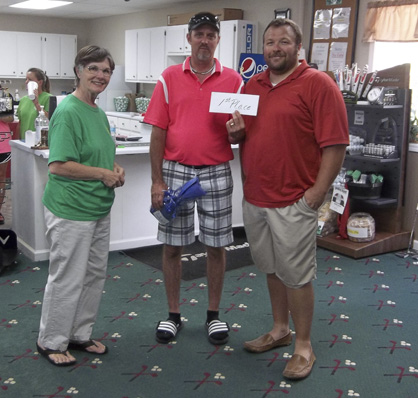 Troy Shannon and Heath Randall finished first in the annual Pilot Club Golf Tournament.