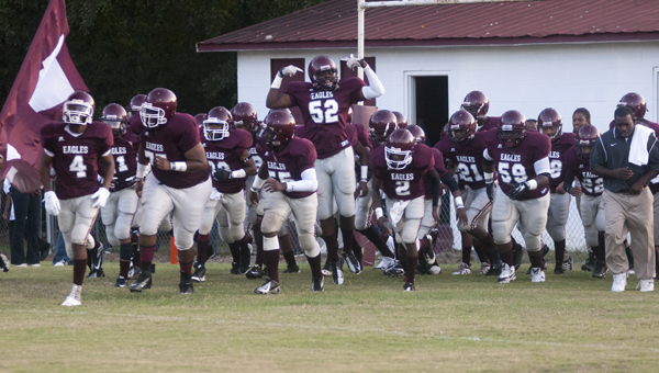 The A.L. Johnson Eagles take the field for the first time in 2014 under new head coach Johnney Ford.
