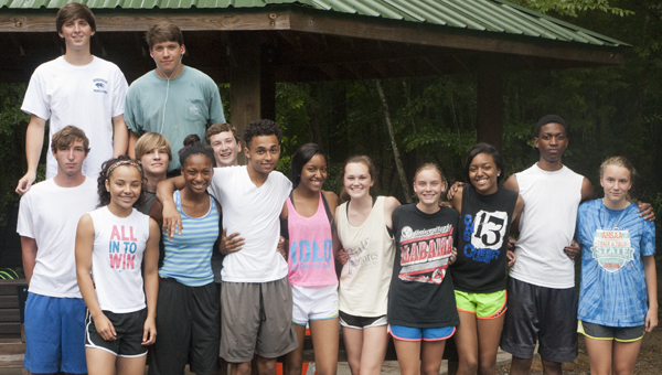 The Demopolis High School cross country team is in its first year as a program. There are 23 runners on the team.