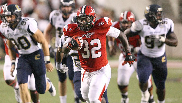 Former Demopolis running back DaMarcus James looks to lead Jacksonville State in 2014.