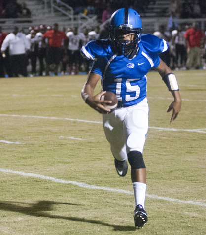 Jamarcus Ezell scores from 4 yards out for Demopolis.