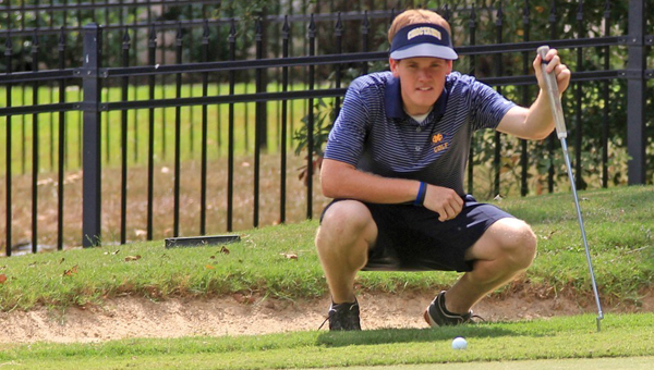 Demopolis native Braden Spiller has been named the National Christian College Athletic Association Men's Golfer of Week. (Photo by David Nichols)
