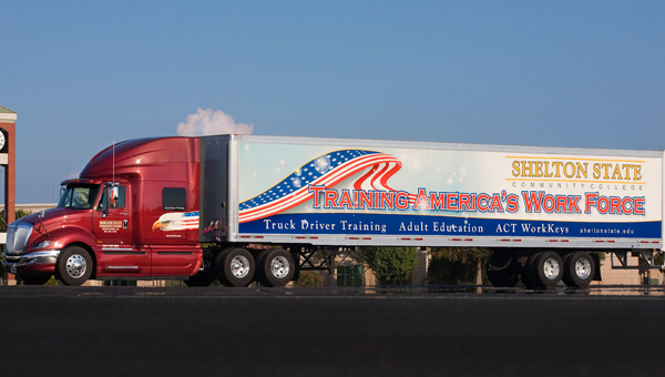 Shelton State's Truck Driving Technology Program will begin in Demopolis on Wednesday, Oct. 15.