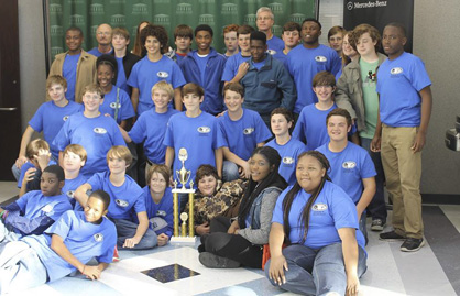 The Demopolis Robotics Team recently placed second at the Shelton State BEST competition and qualified for the region tournament, which will be held in Auburn.