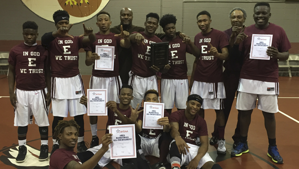 A.L. Johnson defeated Linden 68-65 Friday to claim the Class 1A, Area 4 championship.
