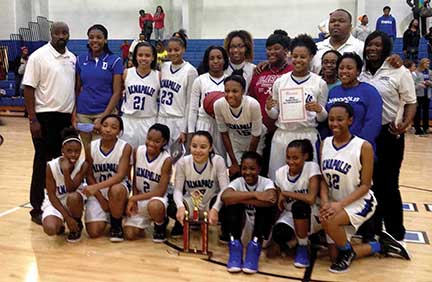 Demopolis High School defeated Sumter Central High School for the fourth time this season on Friday. The Lady Tigers' latest win earned them the area crown. (Times Staff/Andy Brown)