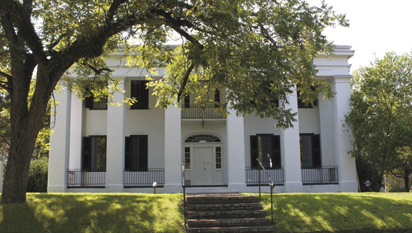 Marengo County Historical Society membership dues are used to help maintain Bluff Hall (pictured) and Lyon Hall. The Marengo County Historical Society is currently holding its annual membership drive.